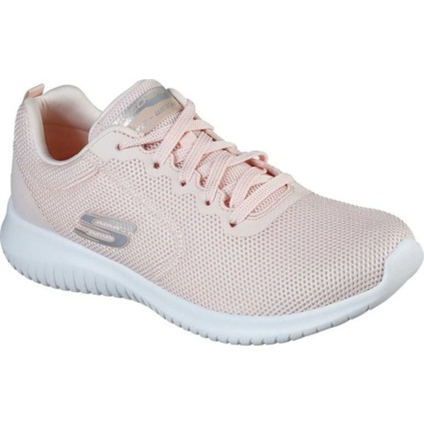 スケッチャーズ レディース スニーカー シューズ Ultra Flex Free Spirits Sneaker Light Pink