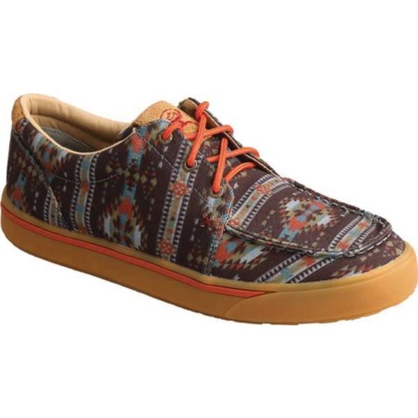 ツイステッド エックス メンズ ブーツ&レインブーツ シューズ MHYC020 Hooey Loper Moc Toe Sneaker Multi Fabric