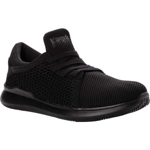 プロペット メンズ ブーツ&レインブーツ シューズ Viator Dual Knit Sneaker Black Knit Mesh