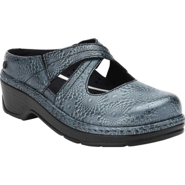 ケイログス レディース スニーカー シューズ Carolina Clog Steel Blue Leather