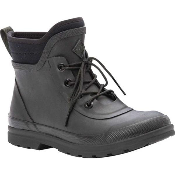ムックブーツ レディース ブーツ&レインブーツ シューズ Muck Originals Modern Lace Up Waterproof Boot Black