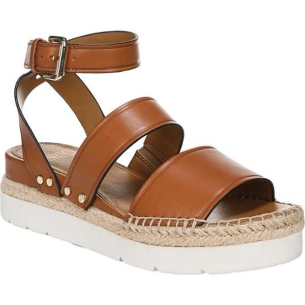 サルトバイフランコサルト レディース サンダル シューズ Calvin Platform Sandal Brown Vachetta Leather