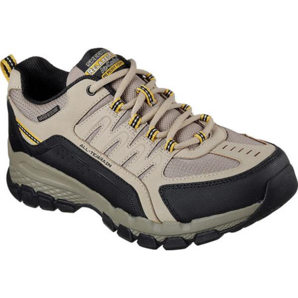 スケッチャーズ メンズ ブーツ&レインブーツ シューズ Relaxed Fit Outland 2.0 Rip-Staver Trail Shoe Taupe/Black