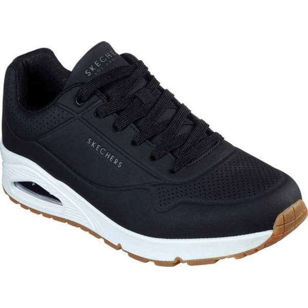 スケッチャーズ メンズ スニーカー シューズ Uno Stand On Air Sneaker Black