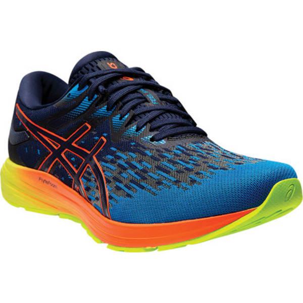 アシックス メンズ スニーカー シューズ DynaFlyte 4 Running Shoe Peacoat/Flash Coral