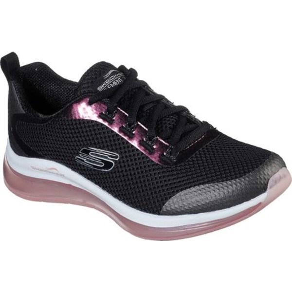 スケッチャーズ レディース スニーカー シューズ Skech-Air Element 2.0 Pretty Fancy Sneaker Black/Pink