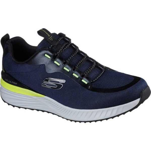 スケッチャーズ メンズ ブーツ&レインブーツ シューズ TR Ultra Lelant Sneaker Navy/Black
