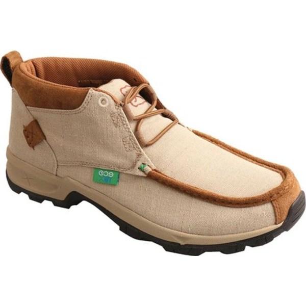 ツイステッド エックス メンズ ブーツ&レインブーツ シューズ MHK0009 Hiking Shoe Tan Canvas