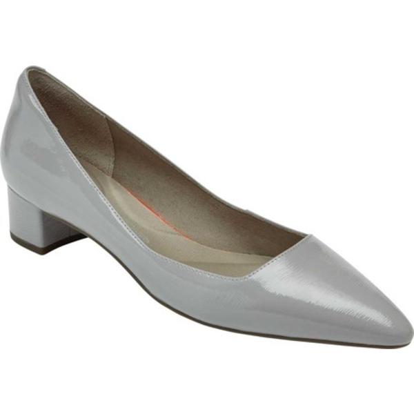 ロックポート レディース オックスフォード シューズ Total Motion Gracie Pointed Toe Pump Heather Grey Leather