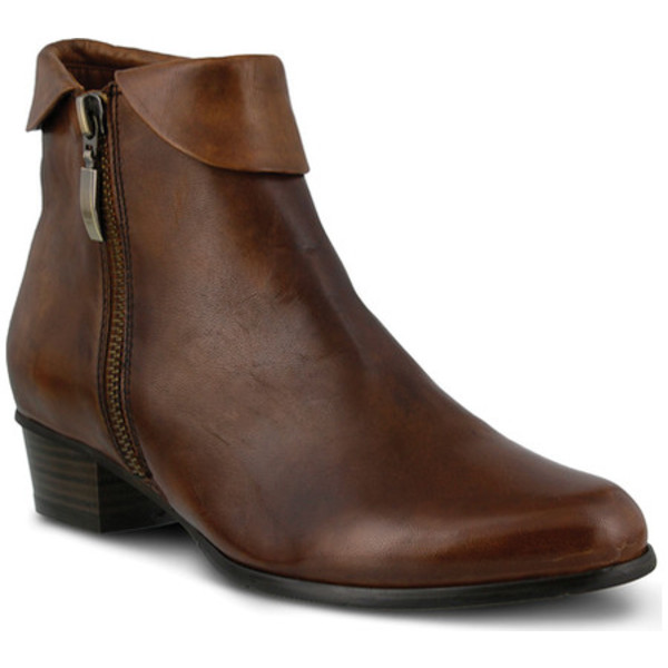 スプリングステップ レディース ブーツ&レインブーツ シューズ Stockholm Brown Leather