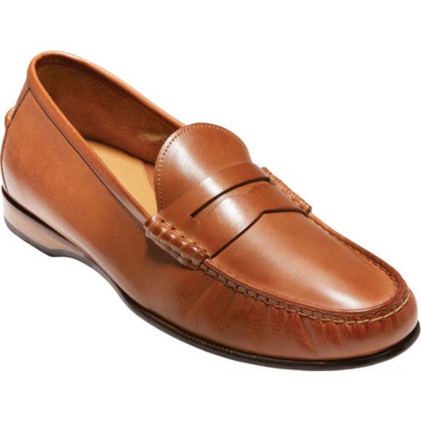 コールハーン メンズ ドレスシューズ シューズ Hayes Penny Loafer Saddle Tan Leather
