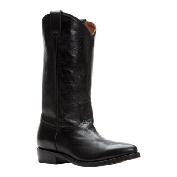 フライ レディース ブーツ&レインブーツ シューズ Billy Pull On Cowgirl Boot Black Polished Soft Full Grain Leather