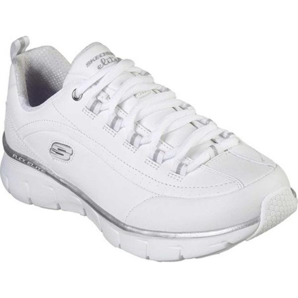 スケッチャーズ レディース スニーカー シューズ Synergy 3.0 Sneaker White/Silver