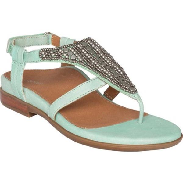 エイトレックス レディース サンダル シューズ Sheila Thong Sandal Mint Leather