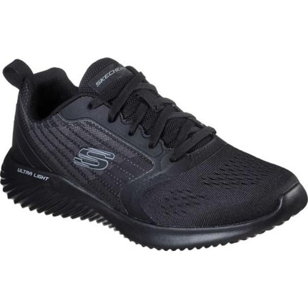 スケッチャーズ メンズ スニーカー シューズ Bounder Verkona Sneaker Black/Black