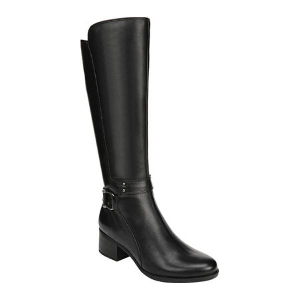 ナチュライザー レディース スニーカー シューズ Dane Knee High Boot Black Leather