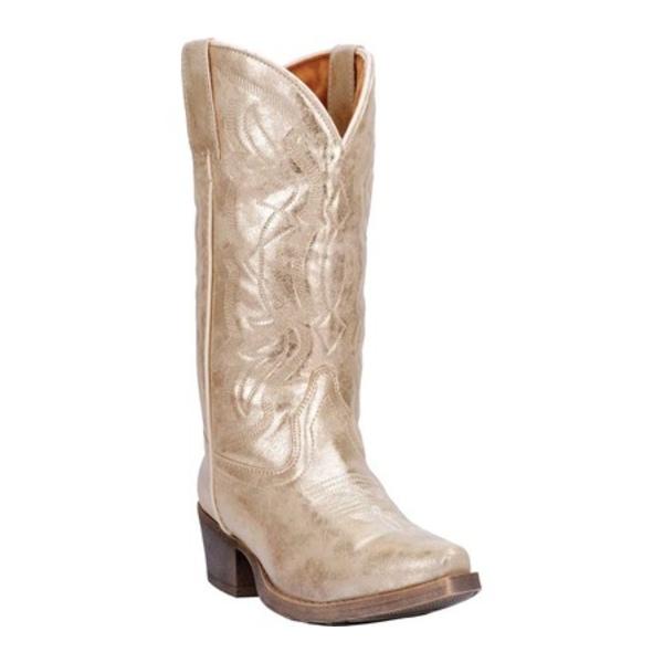 ディンゴ レディース ブーツ&レインブーツ シューズ Kyla Tall Cowboy Boot DI8981 Gold Man-Made