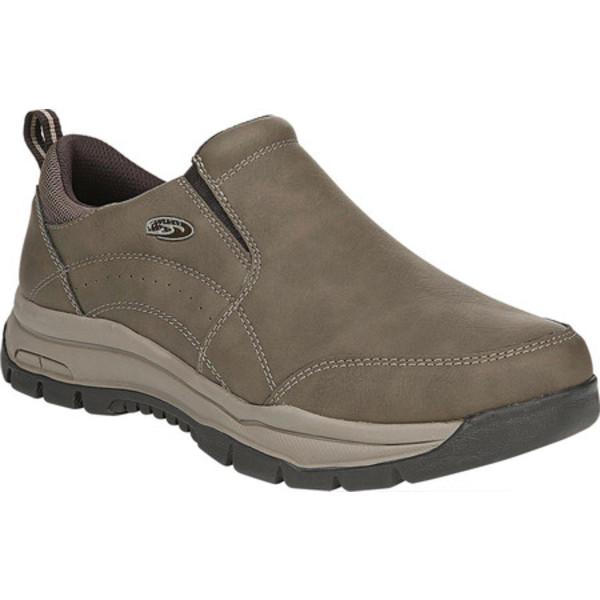 ドクター・ショール メンズ スニーカー シューズ Vail Slip On Sneaker Dark Taupe Faux Leather