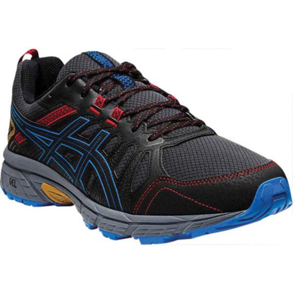 アシックス メンズ スニーカー シューズ GEL-Venture 7 Trail Running Shoe Graphite Grey/Directoire Blue