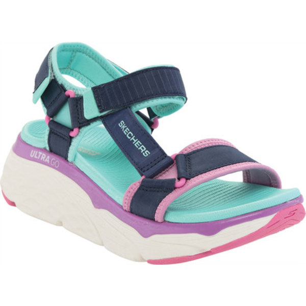 スケッチャーズ レディース サンダル シューズ Max Cushioning Swag Sport Sandal Navy/Multi
