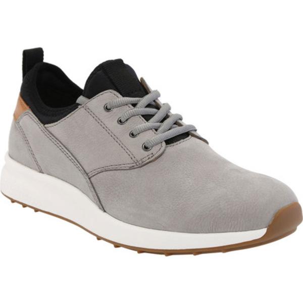 ジョンストンアンドマーフィー メンズ スニーカー シューズ Keating Plain Toe Sneaker Grey Tumbled Nubuck