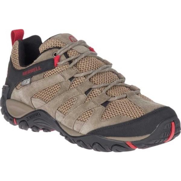 メレル メンズ ブーツ&レインブーツ シューズ Alverstone Waterproof Hiker Boot Boulder Suede/Mesh