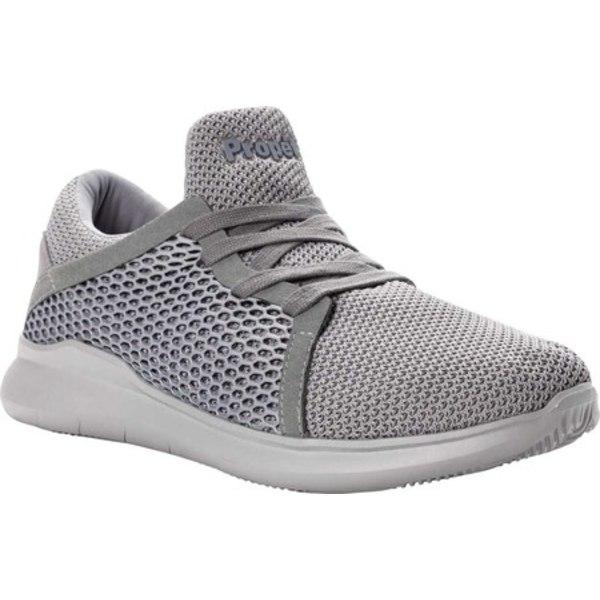 プロペット メンズ ブーツ&レインブーツ シューズ Viator Dual Knit Sneaker Grey Knit Mesh