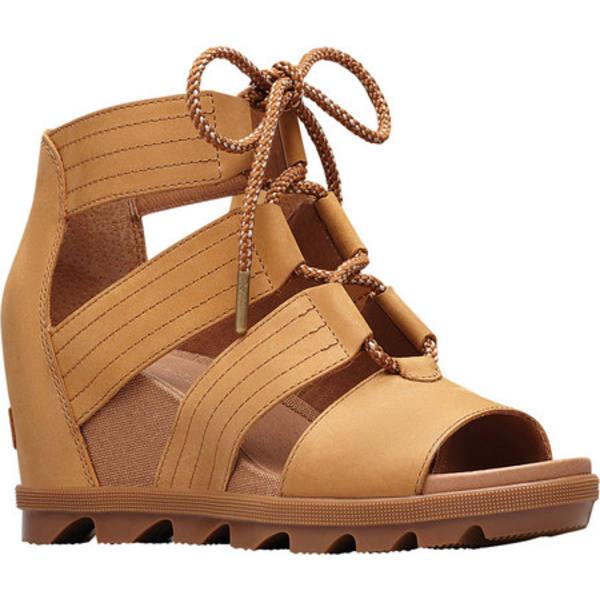 ソレル レディース スニーカー シューズ Joanie II Lace Sandal Camel Brown