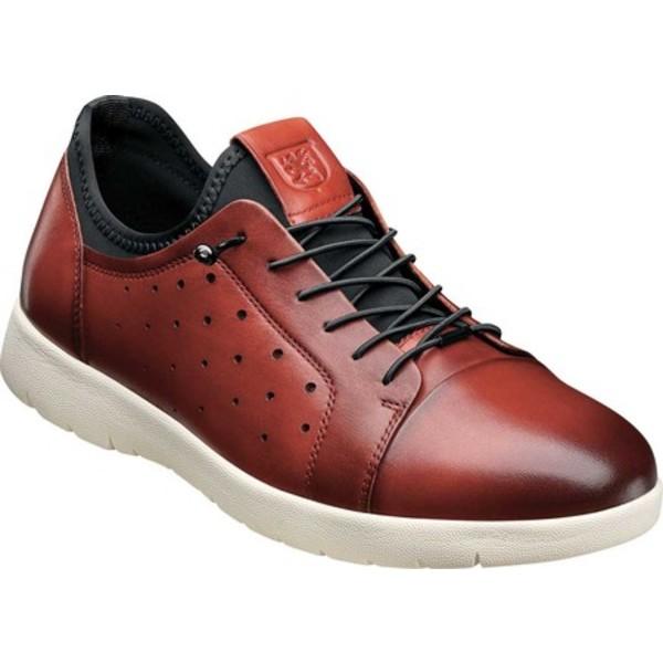 ステイシーアダムス メンズ ドレスシューズ シューズ Halden Cap Toe Sneaker Cranberry Burnished Smooth Leather