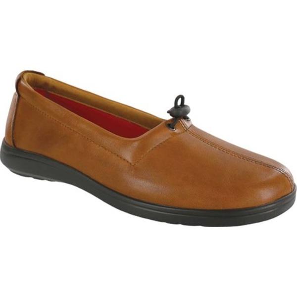エスエーエス レディース スリッポン・ローファー シューズ Funk Slip On Loafer British Tan Leather