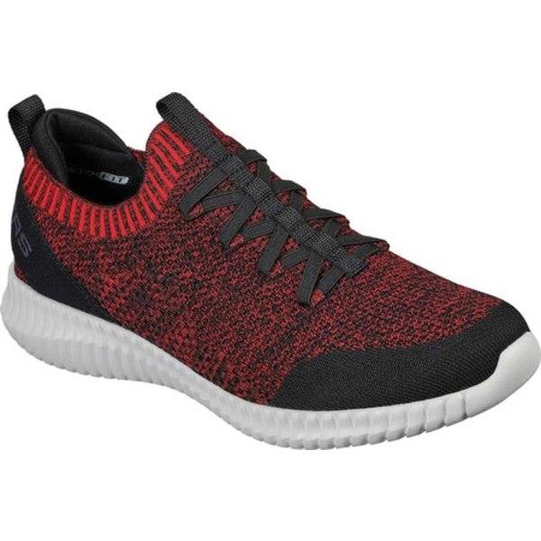 スケッチャーズ メンズ スニーカー シューズ Elite Flex Karnell Sneaker Red/Black