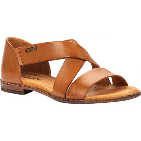 ピコリーノス レディース サンダル シューズ Algar Strappy Sandal W0X-0552 Brandy Calfskin