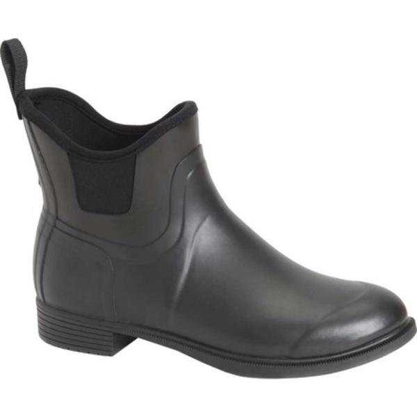ムックブーツ レディース ブーツ&レインブーツ シューズ Derby Equestrian Pull On Boot Black
