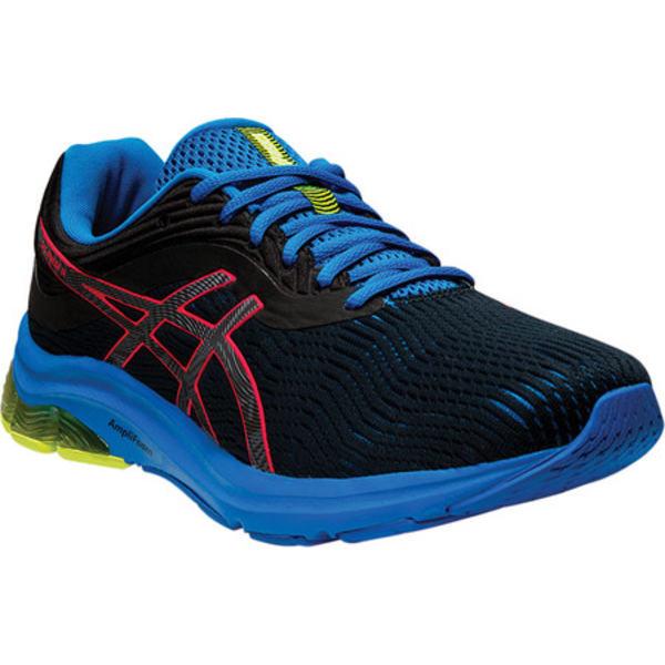 アシックス メンズ スニーカー シューズ GEL-Pulse 11 LS Running Shoe Black/Laser Pink