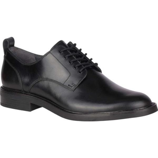 トップサイダー メンズ ドレスシューズ シューズ Gold Cup Elite Plain Toe Oxford Black Leather