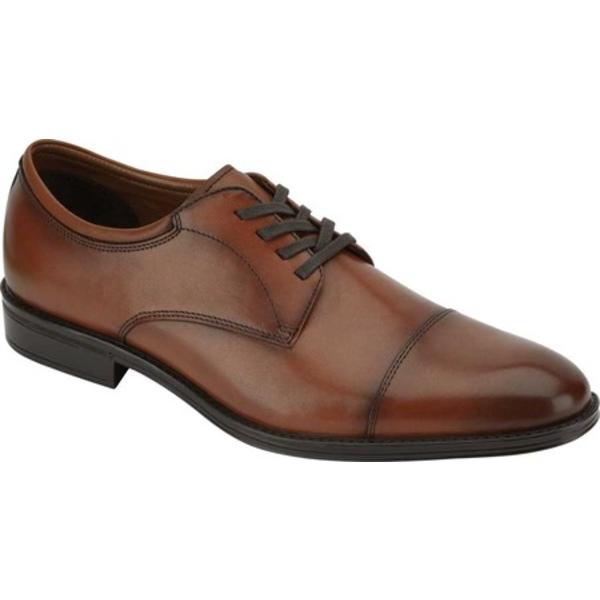 ドッカーズ メンズ ドレスシューズ シューズ Pierdon Cap Toe Oxford Cinnamon Burnished Full Grain Leather
