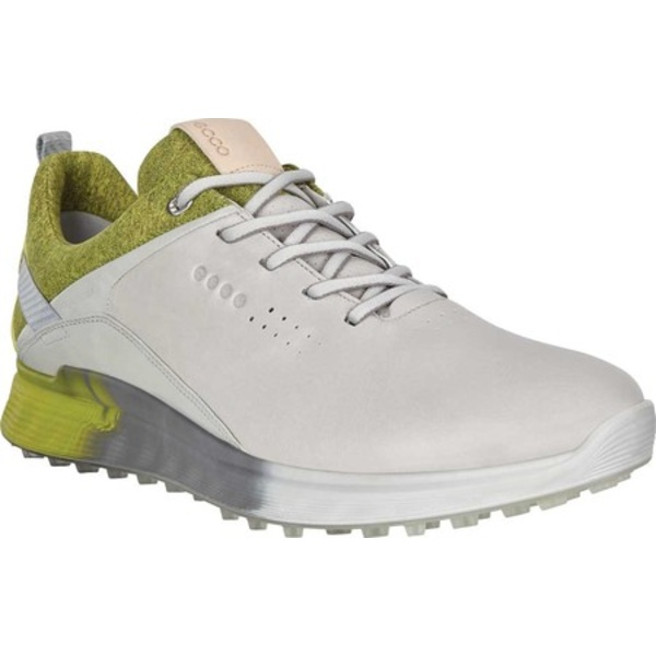 エコー メンズ スニーカー シューズ S-Three GORE-TEX Golf Sneaker Concrete Nappa Leather