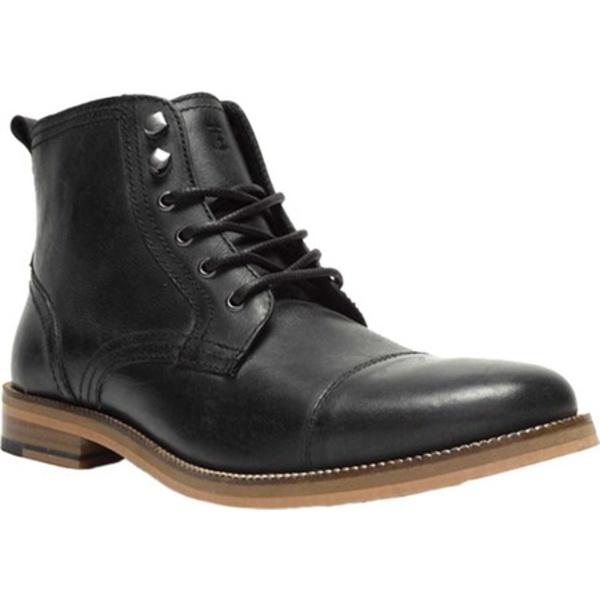 クレボ メンズ ドレスシューズ シューズ Bookham Cap Toe Boot Black/Black Leather