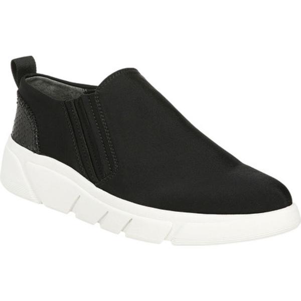 フランコサルト レディース スニーカー シューズ Beil Slip On Sneaker Black Neoprene/Shimmer Python Print Leather