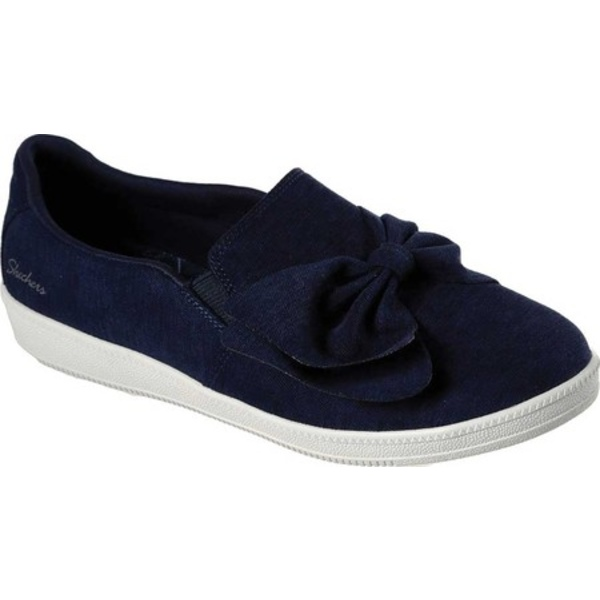 スケッチャーズ レディース スニーカー シューズ Madison Ave My Town Slip-On Sneaker Navy
