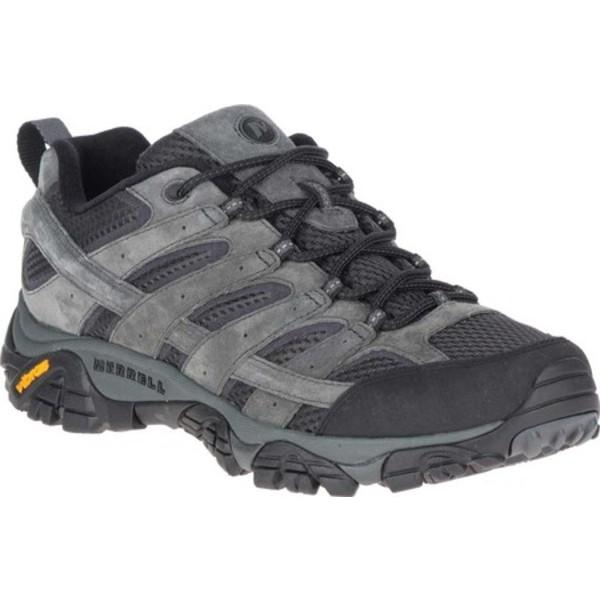 メレル メンズ ブーツ&レインブーツ シューズ Moab 2 Vent Hiking Shoe Granite Pigskin Leather/Mesh