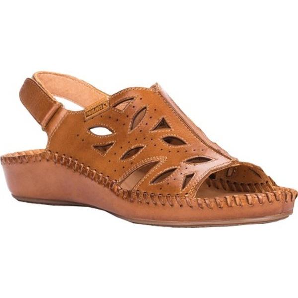 ピコリーノス レディース サンダル シューズ Puerto Vallarta Slingback 655-0524 Brandy Leather