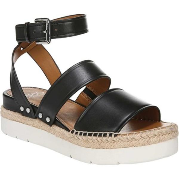 サルトバイフランコサルト レディース サンダル シューズ Calvin Platform Sandal Black Vachetta Leather