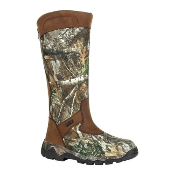 ロッキー メンズ ブーツ&レインブーツ シューズ Red Mountain Waterproof Snake Boot RKS0448 Realtree Edge Leather
