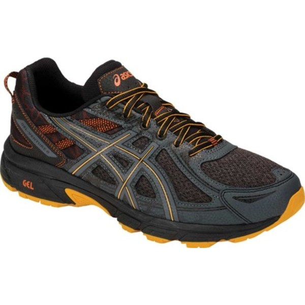 アシックス メンズ スニーカー シューズ GEL-Venture 6 MX Trail Running Shoe Phantom/Sunflower