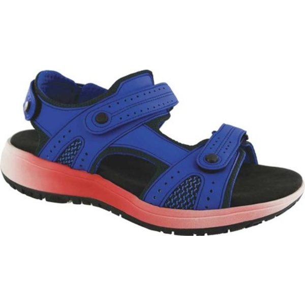 エスエーエス レディース サンダル シューズ Embark Active Sandal Cobalt Leather