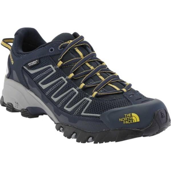 ノースフェイス メンズ ブーツ&レインブーツ シューズ Ultra 109 Waterproof Hiking Shoe Urban Navy/Bamboo Yellow