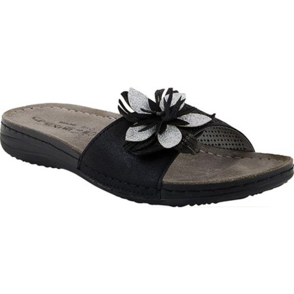 フレクサス レディース サンダル シューズ Hitch Slide Sandal Black Synthetic