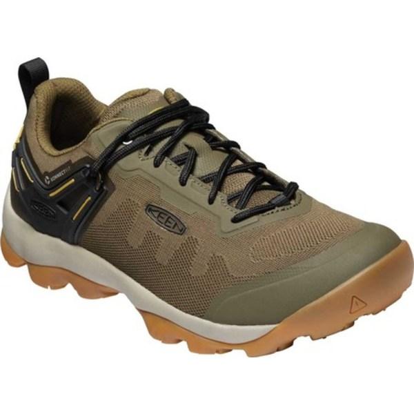 キーン メンズ ブーツ&レインブーツ シューズ Venture Vent Hiking Shoe Dark Olive/Harvest Gold