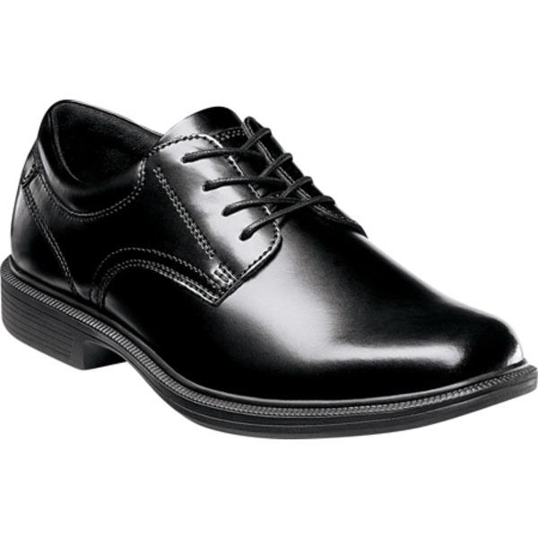 ノンブッシュ メンズ ドレスシューズ シューズ Baker Street Black Smooth Leather